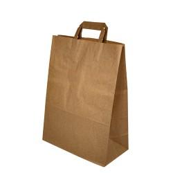 Papírová taška hnědá 32x16x45 cm