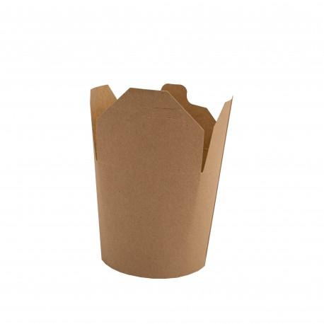 Noodle box-papírový kraft-750 ml