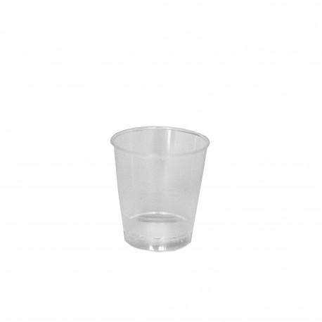 Kelímek 40 ml  PS - transparentní - materiál krystal (50ks)