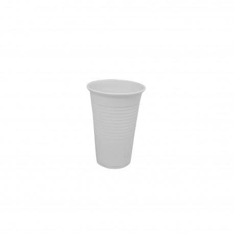 Kelímek nápojový 300ml - bílý (100ks)