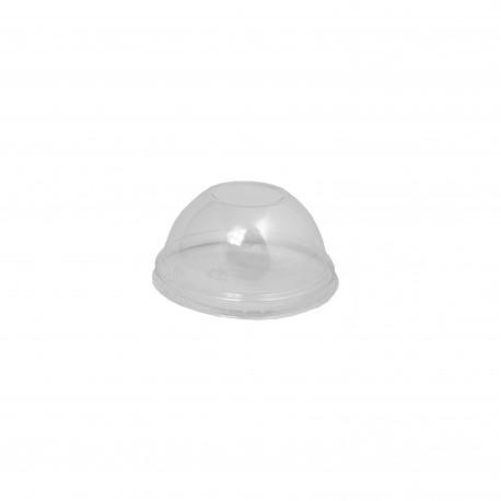Víčko PET KOPULKA bez otvoru AE-250,  AE–300, AE–350 - transparentní (50ks)