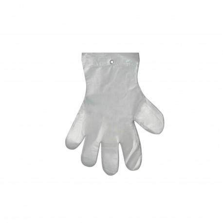 Jednorázové rukavice HDPE - trhací XL (100 ks)